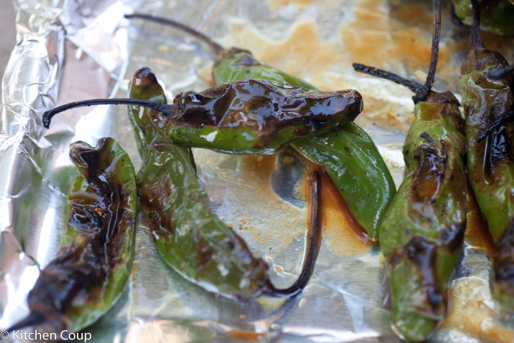 Grilled Shishito Peppers - Kitchen Coup
