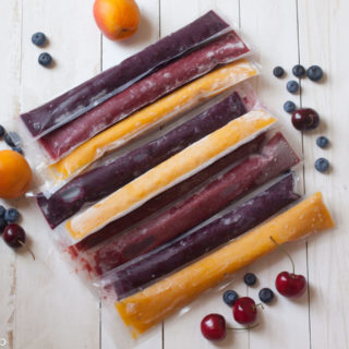 Homemade Healthier Freezer Pops