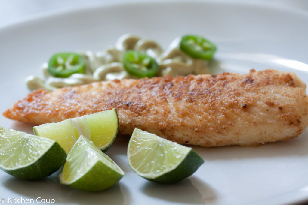 Low carb breaded tilapia kitchen coup for Low carb fish breading