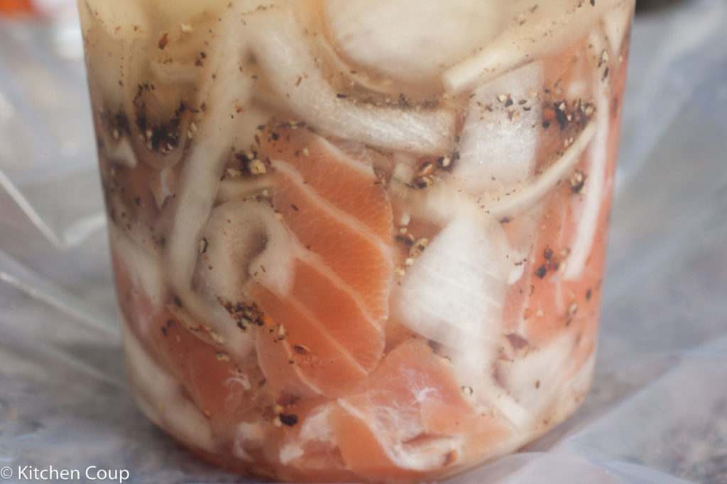 Herring Style Cured Salmon